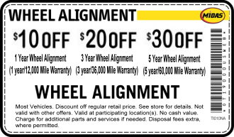 Wheel Alignment Coupon